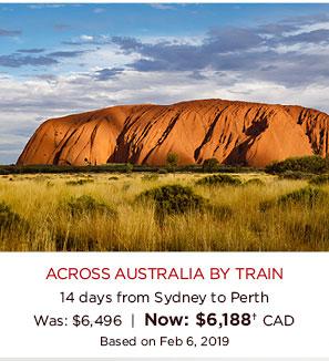 Across Australia By Train