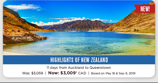 NEW! Highlights Of New Zealand