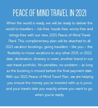Peace Of Mind Travel In 2021